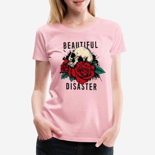 Schädelrosen - Frauen Premium T-Shirt