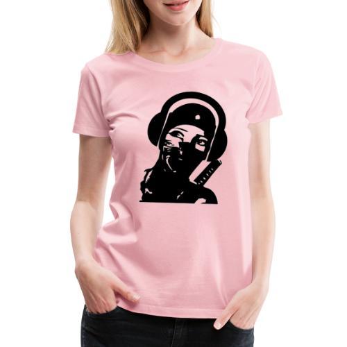 ninja headphone headphones, ninja, music, gaming - T-shirt Premium Femme