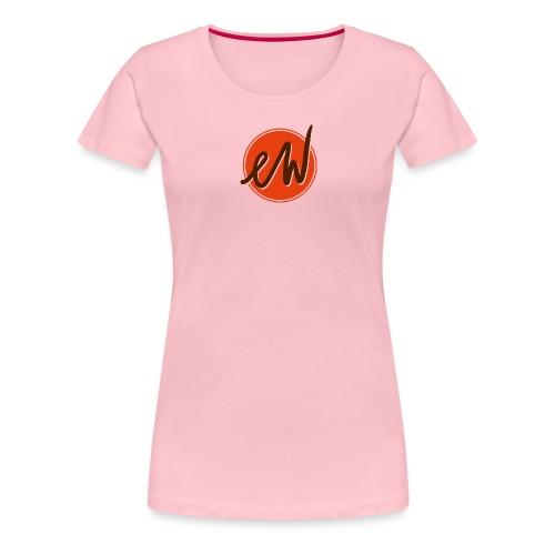 ew logo kompakt - Frauen Premium T-Shirt