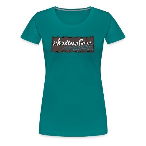 CHROMELESS CUT - Frauen Premium T-Shirt