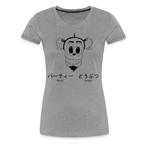Party Amimal - Women's Premium T-Shirt