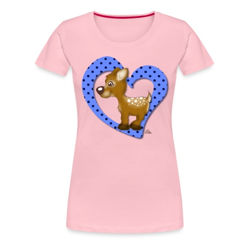 Kira Kitzi Blaubeere - Frauen Premium T-Shirt