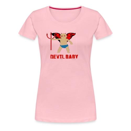 DEVIL BABY png - Women's Premium T-Shirt