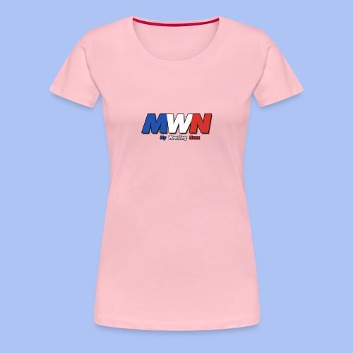 My Wrestling News - T-shirt Premium Femme