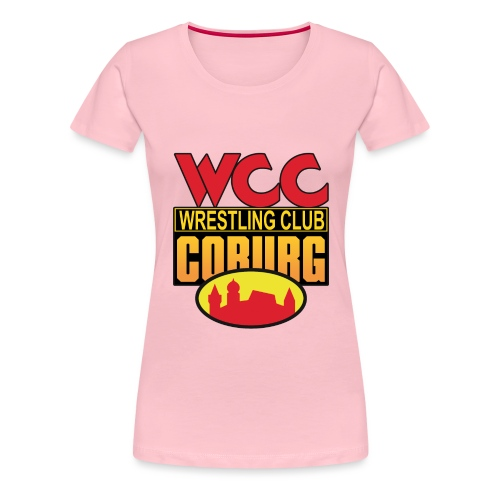 WCC WrestlingClubCoburg - Frauen Premium T-Shirt