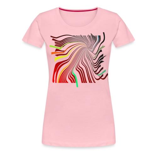 Spirale 01 - Frauen Premium T-Shirt