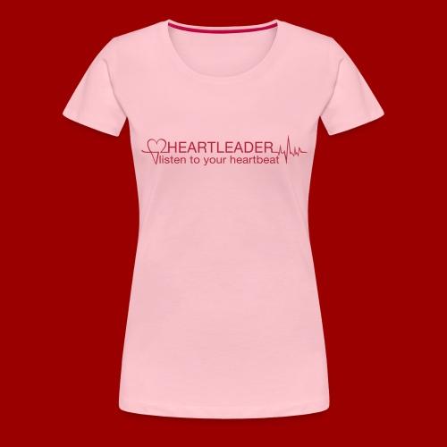 Heartleader_Signet_4c - Frauen Premium T-Shirt