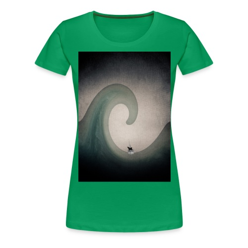 JamesCaird wave - Women's Premium T-Shirt