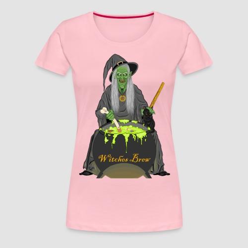 The Witch horror T-shirt - Women's Premium T-Shirt