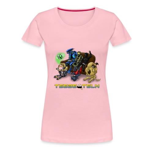 Teebeuteln Logo - Frauen Premium T-Shirt