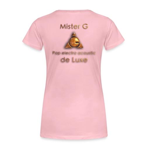 Mister G - T-shirt Premium Femme