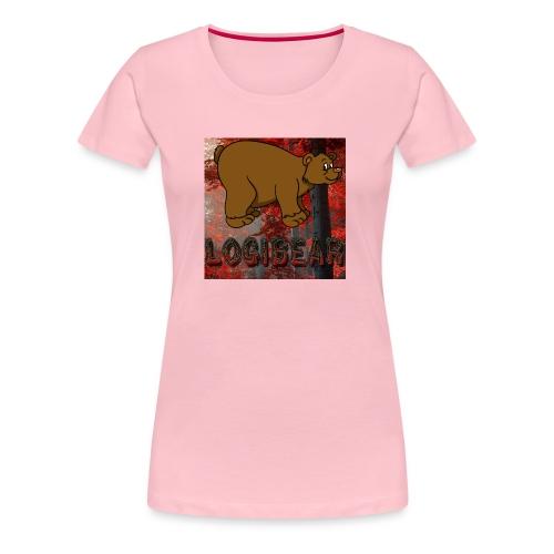 Male Logi Bear Shirt - Women's Premium T-Shirt