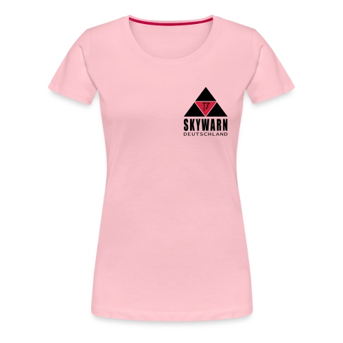 skywarn vector klein - Frauen Premium T-Shirt