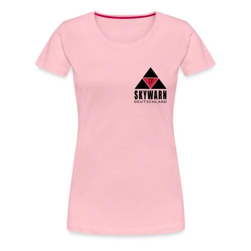 skywarn vector klein - Frauen Premium T-Shirt
