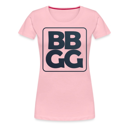 BBGG Logo Blue - Women's Premium T-Shirt