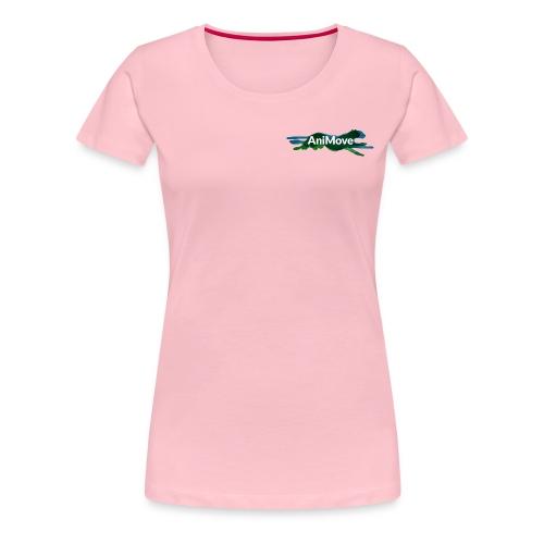 AniMove org logo trans - Women's Premium T-Shirt