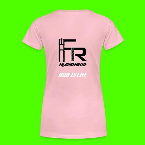 Frankenride logo 2016 - Frauen Premium T-Shirt