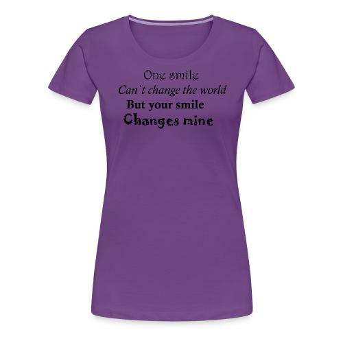 Life quote - Vrouwen Premium T-shirt