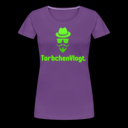 TörbchenVlogt Logo - Frauen Premium T-Shirt