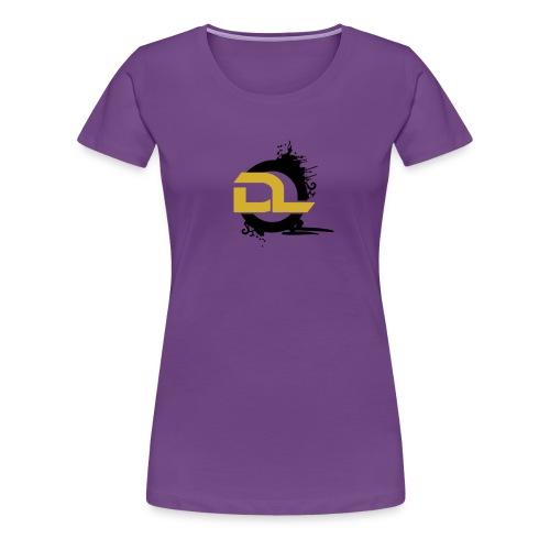 DL - Premium-T-shirt dam