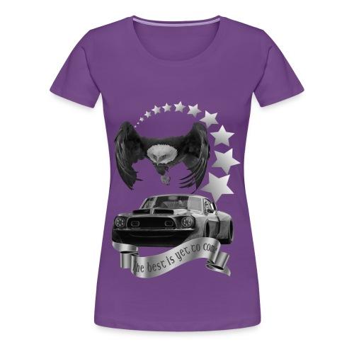 Das beste kommt noch silber - Frauen Premium T-Shirt