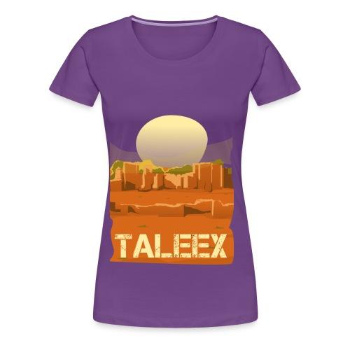 Taleex - Women's Premium T-Shirt