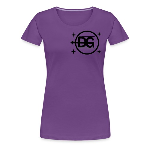 DG logo - Frauen Premium T-Shirt