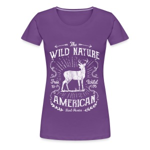 ANTLER HUNTER - Jäger Hunter Hunting Wildnis Shirt - Frauen Premium T-Shirt