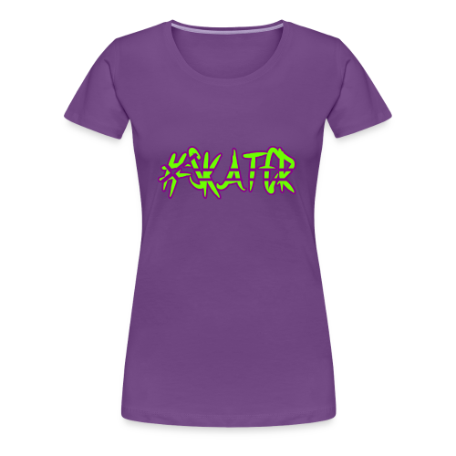 #skater - Frauen Premium T-Shirt