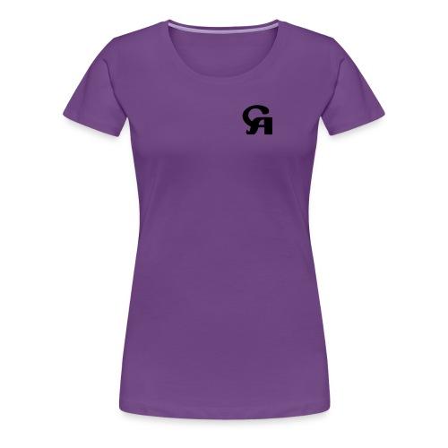 c-v logo - Women's Premium T-Shirt