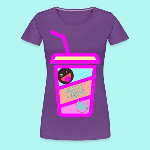 VASO DH - Camiseta premium mujer