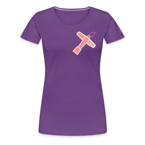 Drum Key Design - T-shirt Premium Femme