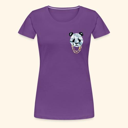 Panda 3D Polygon - Comic - Frauen Premium T-Shirt