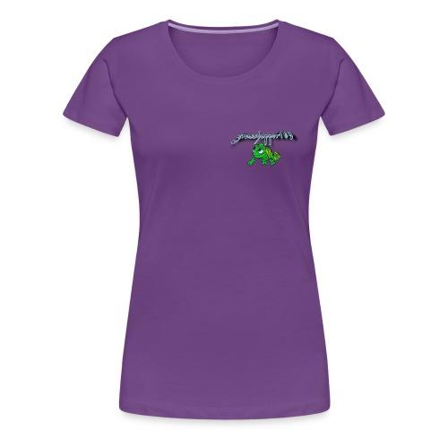 grasshopper189 Logo - Frauen Premium T-Shirt