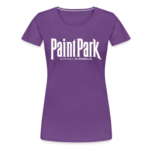 paintpark logo klamotten - Frauen Premium T-Shirt