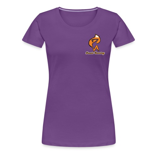 foxxie gaming logo 2 - Women's Premium T-Shirt