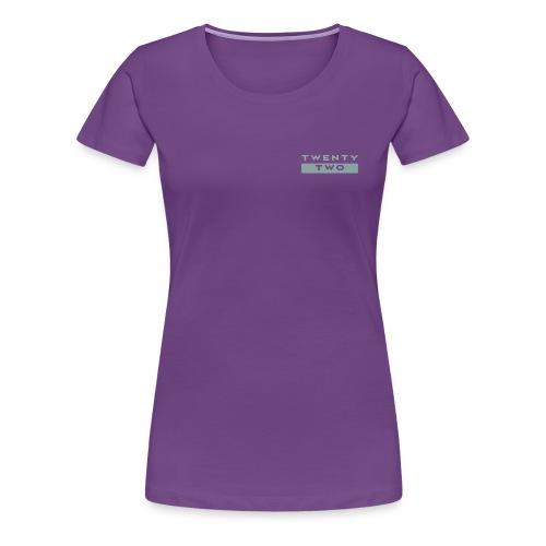 Twenty Two - Women's Premium T-Shirt