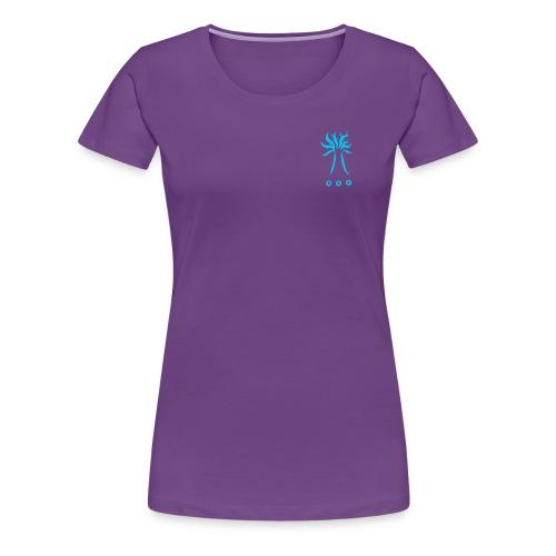 Collection TREE BLEU - T-shirt Premium Femme