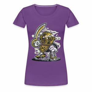 TAUCHER - Lustige Comic Cartoonfigur Geschenk - Frauen Premium T-Shirt