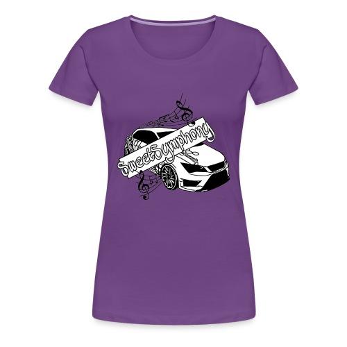 SweetSymphony - Frauen Premium T-Shirt