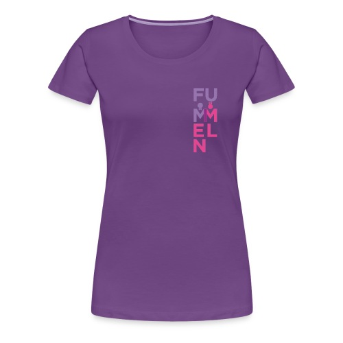 FUMMELN® ETIKETT - Frauen Premium T-Shirt