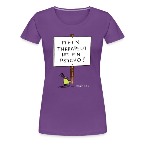 therapeut - Frauen Premium T-Shirt
