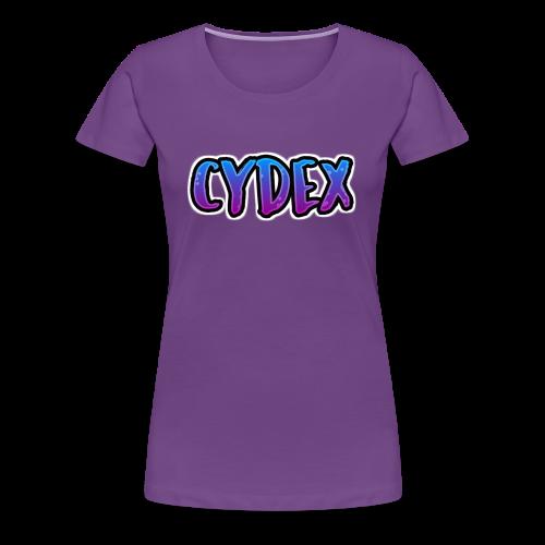 Cydex Logo - Premium T-skjorte for kvinner
