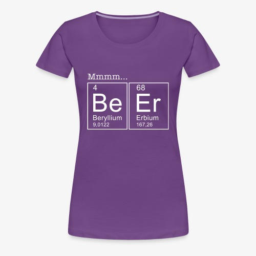 Beer Periodic Table of Elements - Frauen Premium T-Shirt