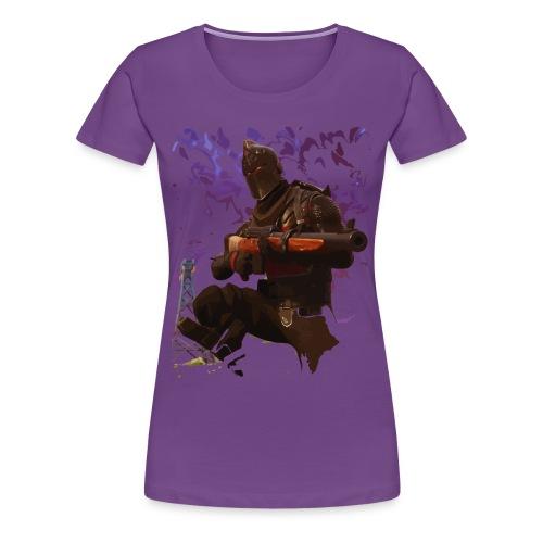 Black Knight - Faded - Women's Premium T-Shirt