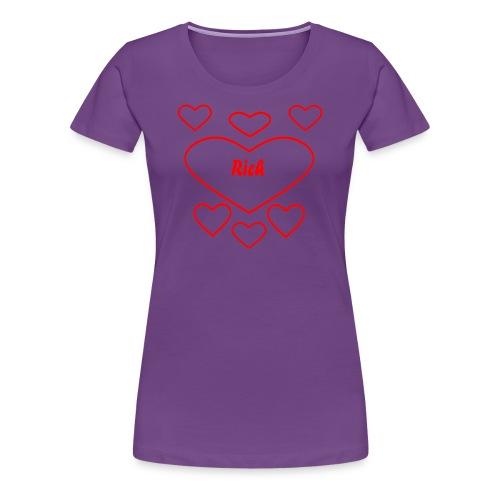 Rich Heart - Frauen Premium T-Shirt