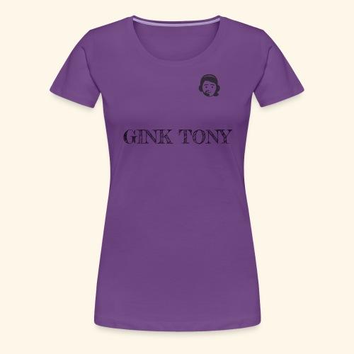 Gink Tony Merchandising 2 - Frauen Premium T-Shirt