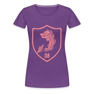 grenoble dauphin blason - T-shirt Premium Femme