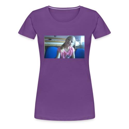 purple happy merch - Women's Premium T-Shirt