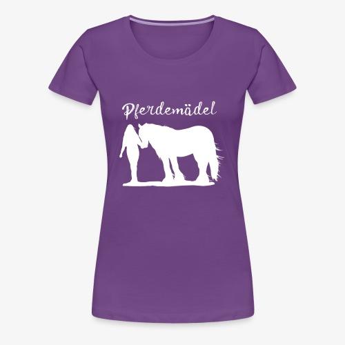 Pferdemädel - Frauen Premium T-Shirt